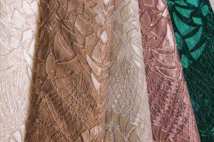 koncana čipka materijal sivenje haljine