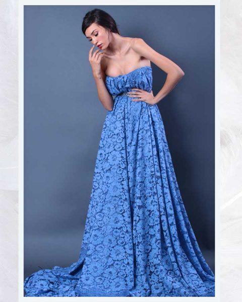 Maturske haljine Bombaj - Pamučna čipka