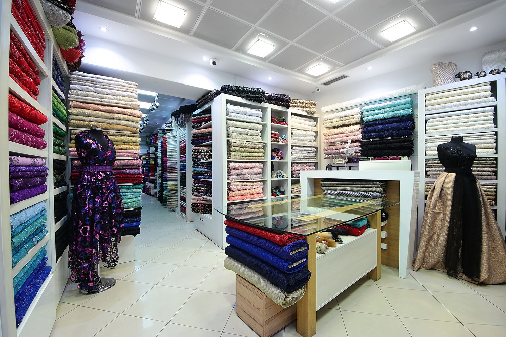 Bombaj tekstil materijal sivenje haljine