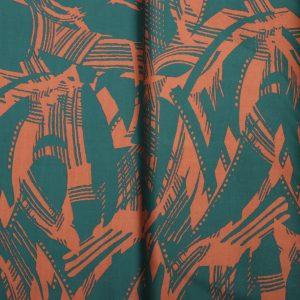 Keper pamuk materijal sivenje haljine