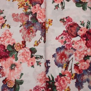 pamuk digital materijal sivenje haljine